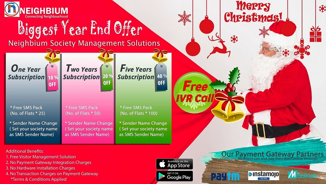 christmas-offer neighbium apartment management software application