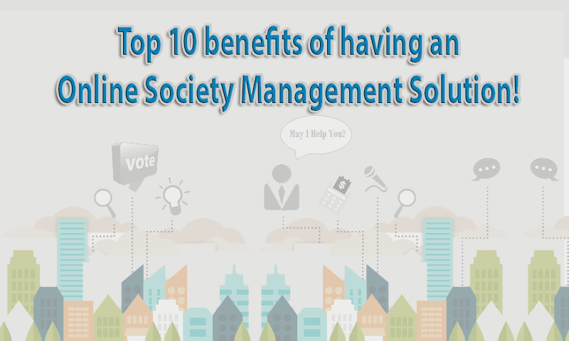 Top 10 benefits of having an Online society management solution