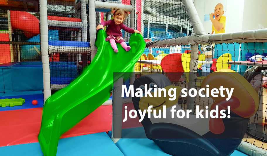 Making society joyful for kids