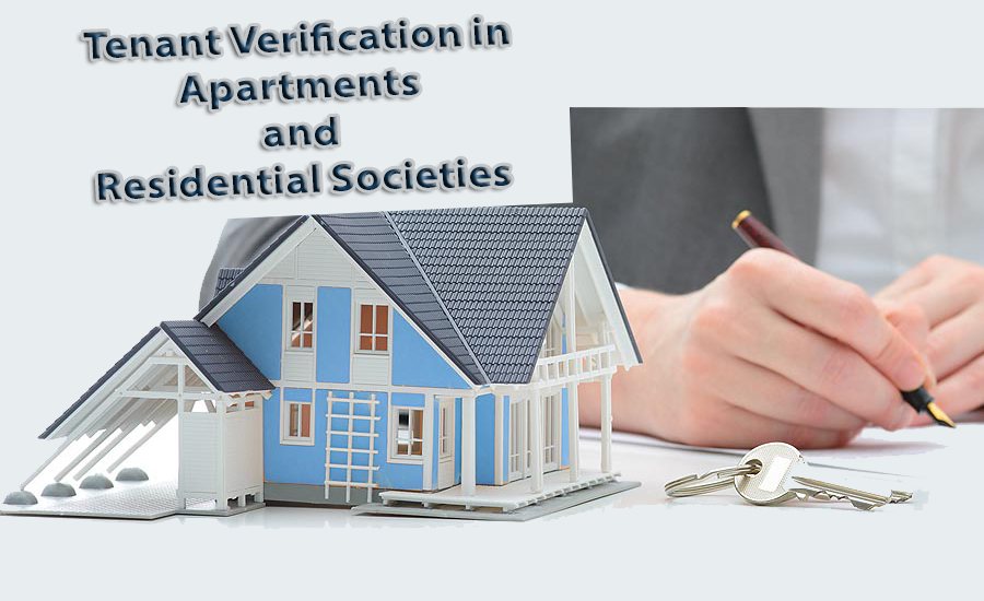 Tenant verification in Apartments and Residential Societies