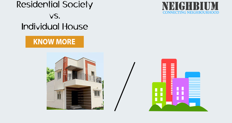 Why living in society is better than individual house
