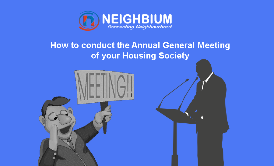 How to conduct the Annual General Meeting of your Housing Society through cloud-based solution