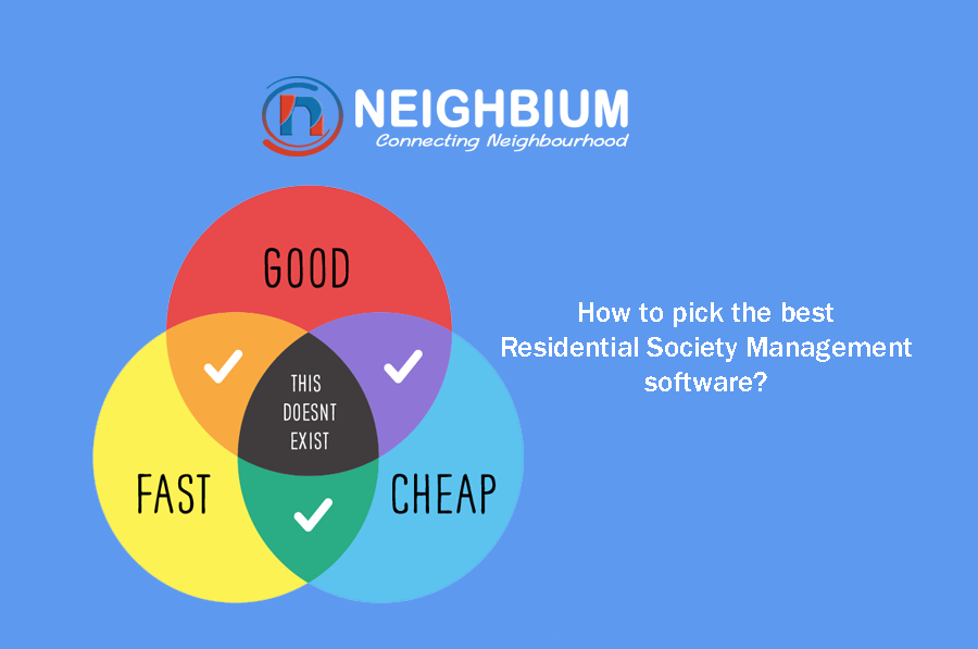 How to pick the best residential society management software?