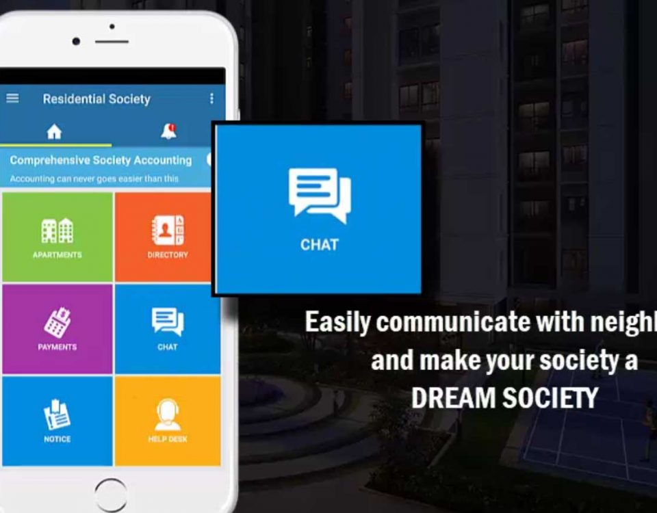 Easily communicate with your neighbours and make your society a dream society