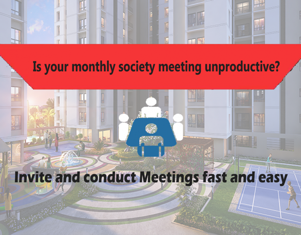 Is your monthly society meeting unproductive due to low attendance?