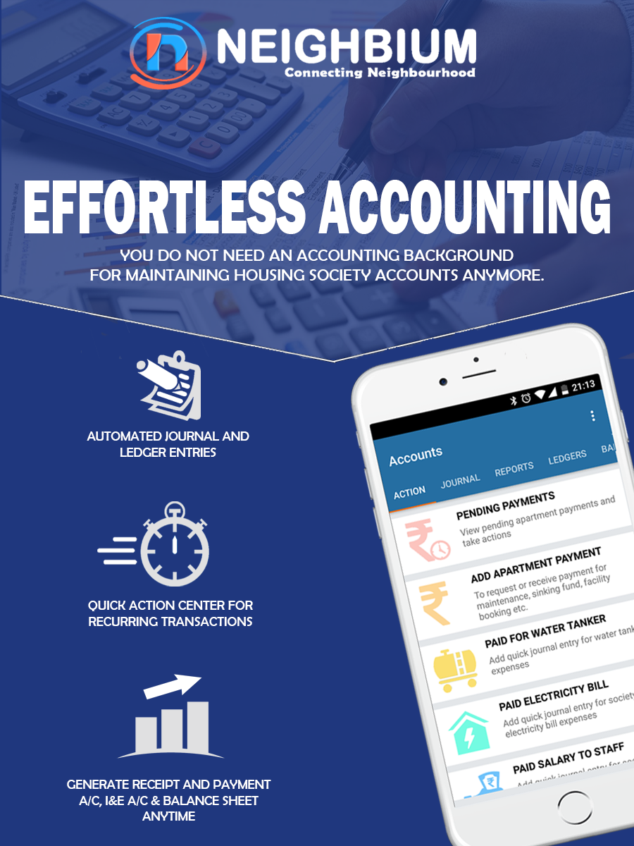 Are you getting tired of managing residential society accounts?