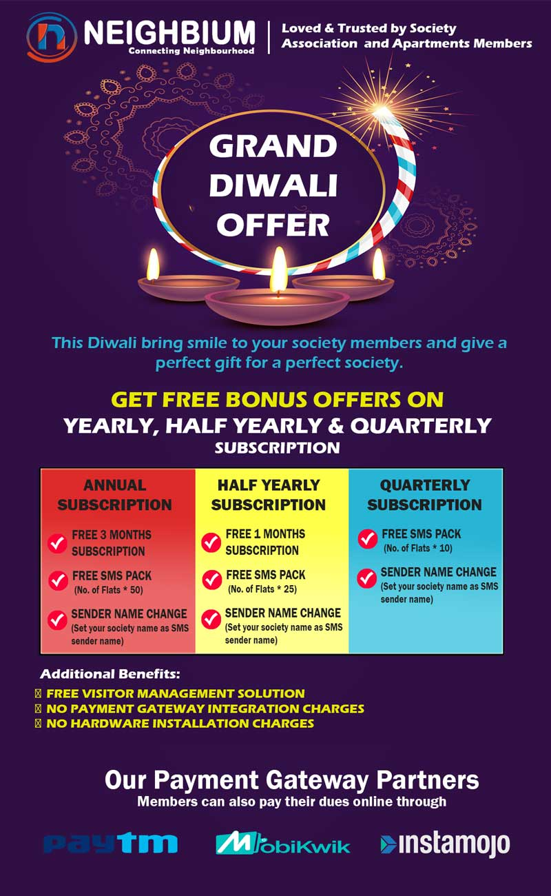 Neighbium diwali offer of the month