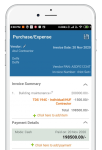 Payment-Made-with-the-TDS-Deduction